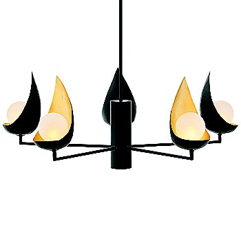 Label=Ren 5-Light Chandelier