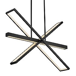 Tangent LED Chandelier