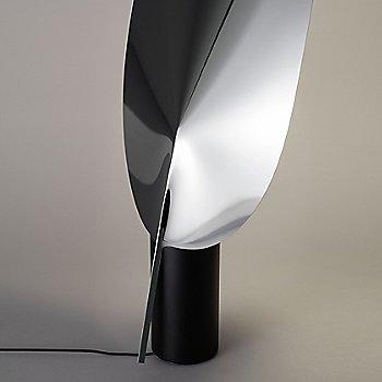 Aluminum finish / in use