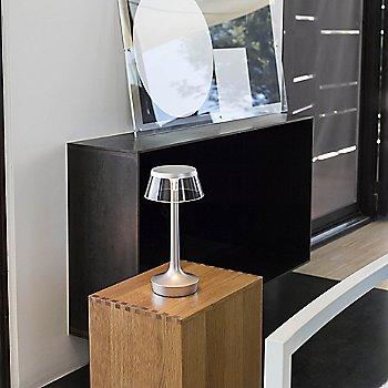 White finish / Transparent position