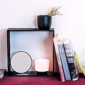 White, Black finish / illuminated