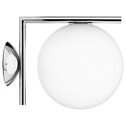 IC Wall/Ceiling Light (Chrome/Small) - OPEN BOX RETURN