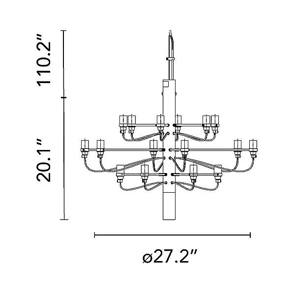 2097/18 Chandelier