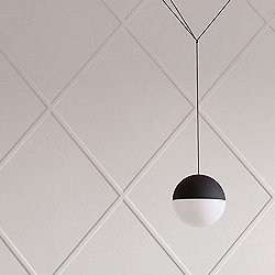 String Light Round Pendant Light