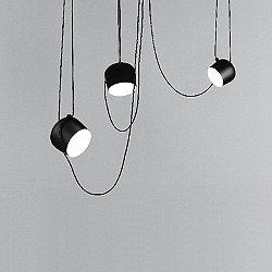 Aim LED Multi-Light Pendant Light