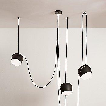 Black finish / 3 Light / illuminated