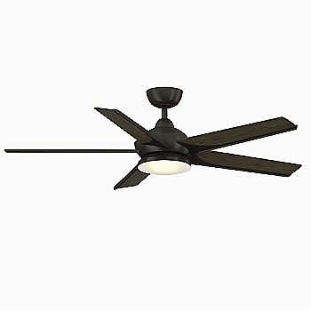 Dark Bronze with Bourbon blades finish / 56 inch / illuminated