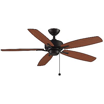 Matte Greige Fan Body with Weathered Wood Blade finish