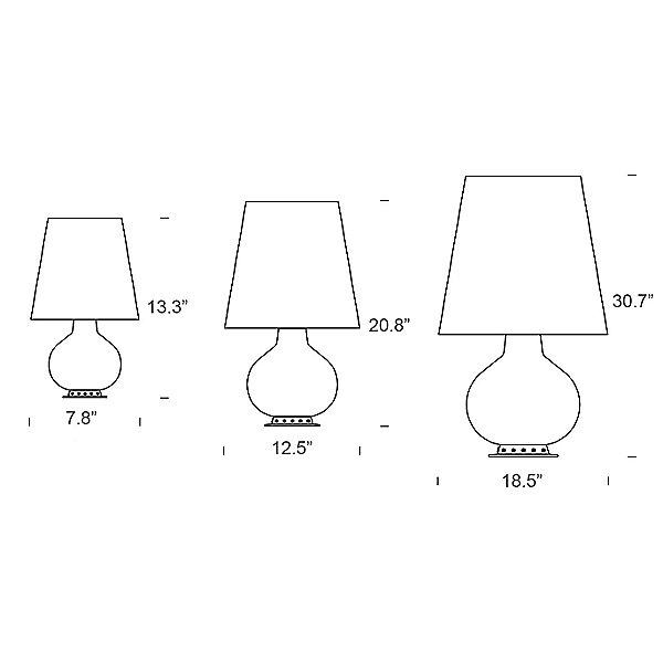 Fontana 1853 LED Table Lamp