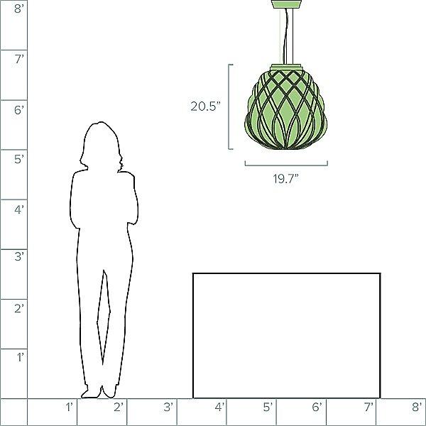 Pinecone Pendant