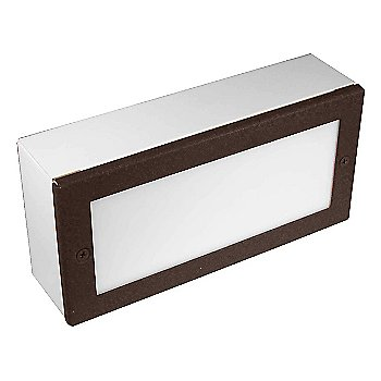 Aluminum with Weathered Brown finish