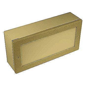 Brass finish