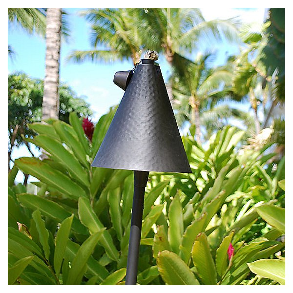 Small Tiki Torch and Light