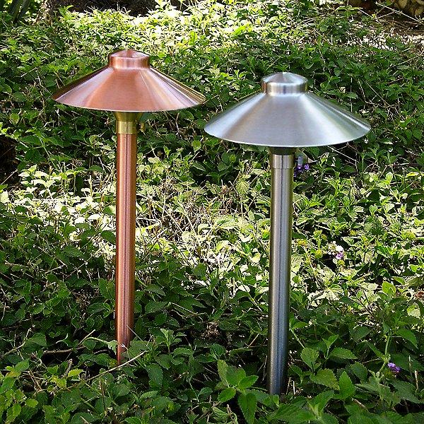 Aluminum China Hat Area Light Adjustable Hub