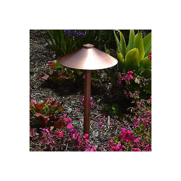 Copper 9 Inch Area Light