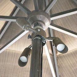 Aluminum LED Umbrella Lights