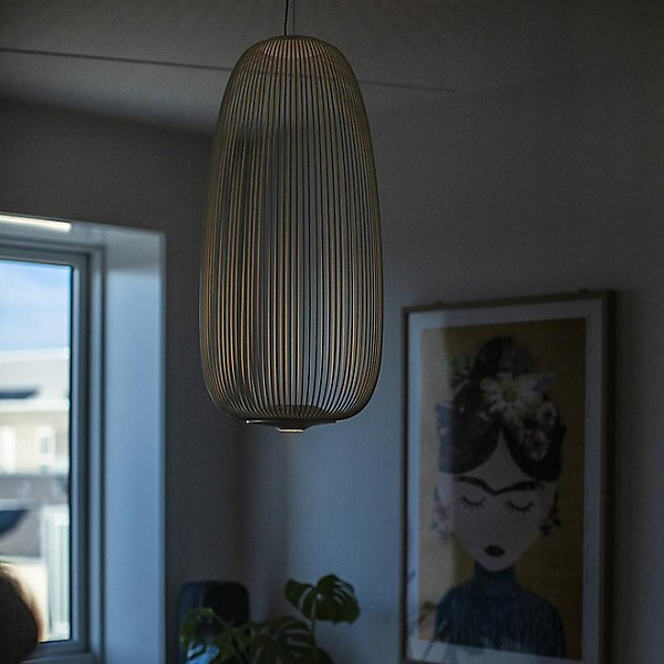 Spokes Long LED Pendant Light