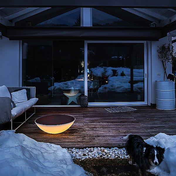 Solar Outdoor Floor Lamp