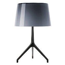 Lumiere XX Table Lamp (Grey/Black Chrome/Small) - OPEN BOX