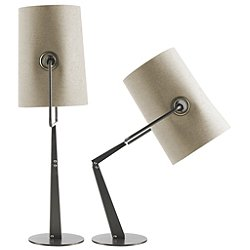 Diesel Collection Fork Table Lamp (Ivory/Brown) - OPEN BOX