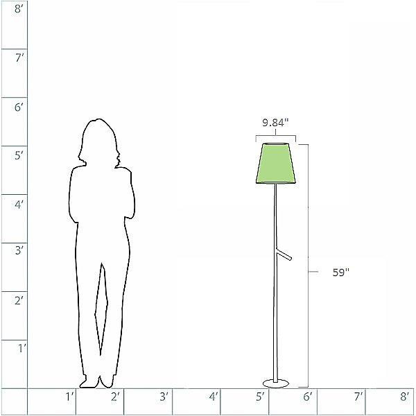 Birdie LED Floor Lamp