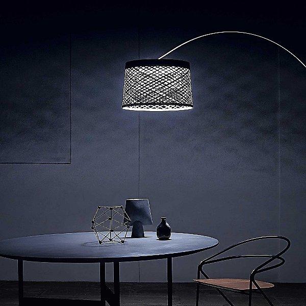 Twiggy Grid Outdoor Floor Lamp