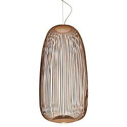 Spokes Long LED Pendant (Copper/78 Inch) - OPEN BOX RETURN