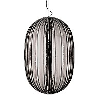 Plass Grande Pendant by Foscarini (Grey/LED)-OPEN BOX RETURN