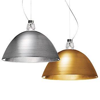 Aluminum and Bronze finish / Not illuminated