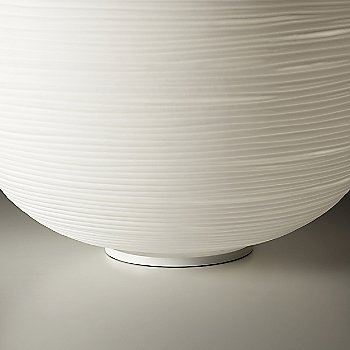 White finish, detail