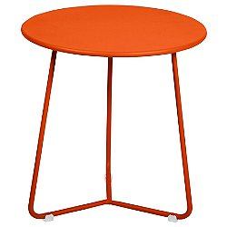 Cocotte Small Side Table (Carrot Flat Satin)-OPEN BOX RETURN