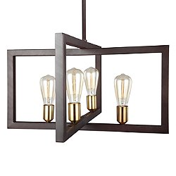 Finnegan 3145 4 Light Chandelier