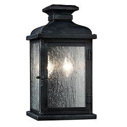Pediment 2-Light Outdoor Wall Light