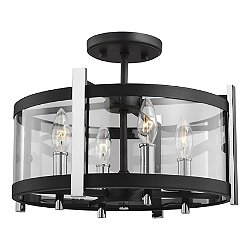 Broderick Semi-Flush Mount Ceiling Light