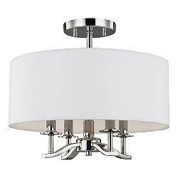 Hewitt Semi-Flush Mount Ceiling Light