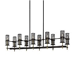 Palmyra 10 Light Linear Suspension Light