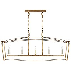 Thayer 5 Light Linear Chandelier