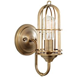 Urban Renewal 1-Light Reversible Wall Sconce