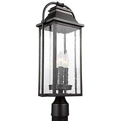 Wellsworth 3 Light Outdoor Post Light