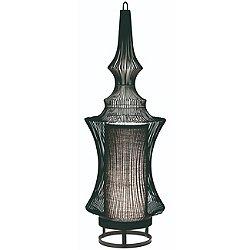 Tibet Table Lamp by Forestier (Black/Metal)- OPEN BOX RETURN