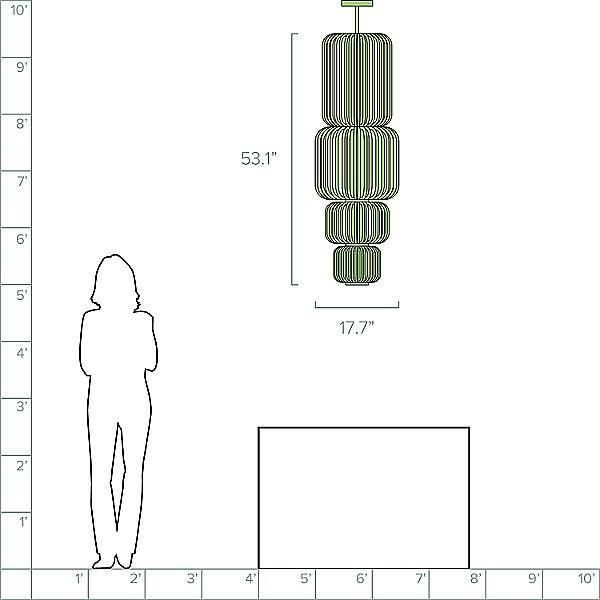 Bamboo Totem Pendant