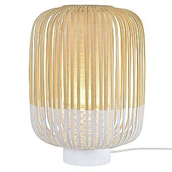 White finish / Medium size / illuminated