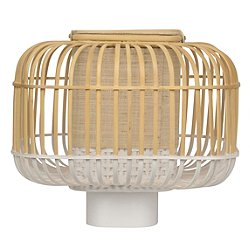 Bamboo Square Table Lamp