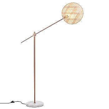 Copper with Natural finish / Medium size / Diamond Pattern / illuminated