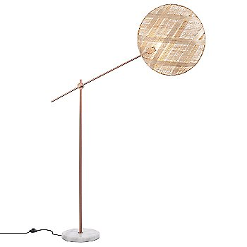 Copper with Natural finish / Large size / Diamond Pattern / illuminated
