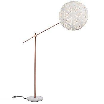 Copper with White finish / Large size / Hexagonal Pattern / illuminated