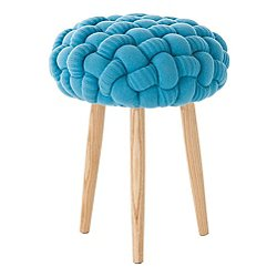Knot Knitted Stool