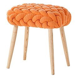 Plait Knitted Stool
