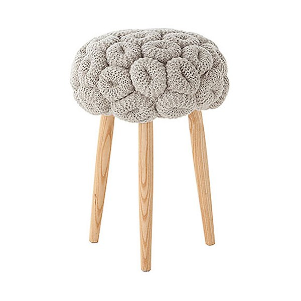 Rings Knitted Stool