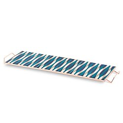 Mix & Match Large Rectangular Tray, Blue
